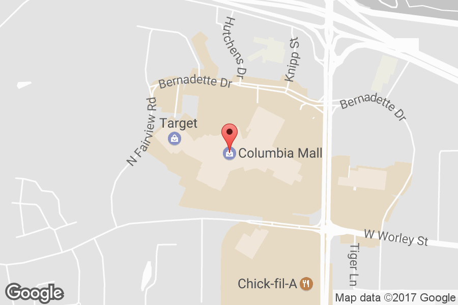 Map of Columbia Mall - Click to view in Google Maps